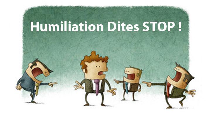 Comprendre pourquoi l'humiliation fait souffrir
